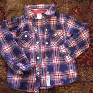 Carter's 24 month pearl snap shirt! Super cute!